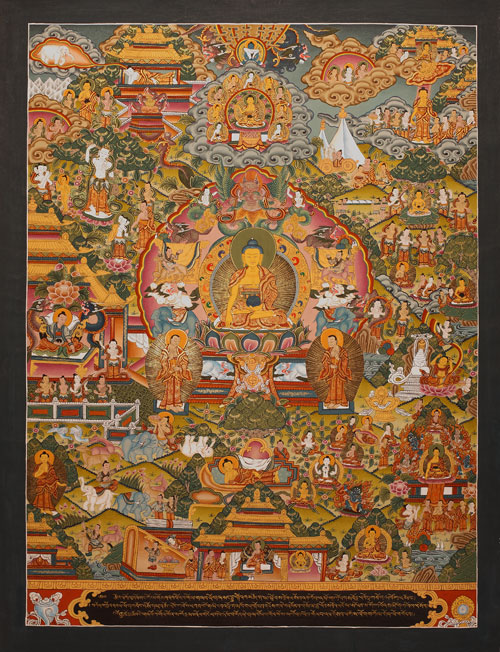 buddhas lebenslauf