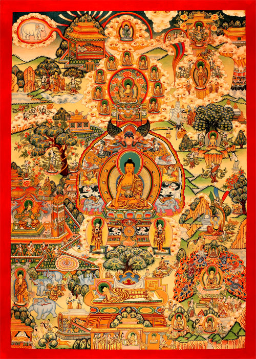 Lifehistory of the Buddha