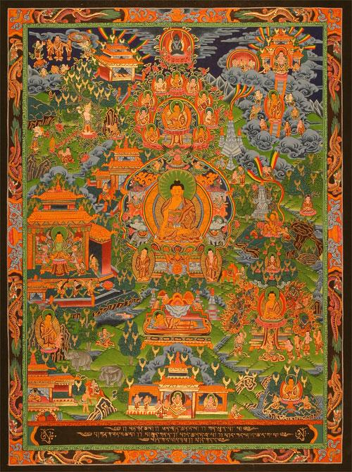 buddha lebenslauf pocket press